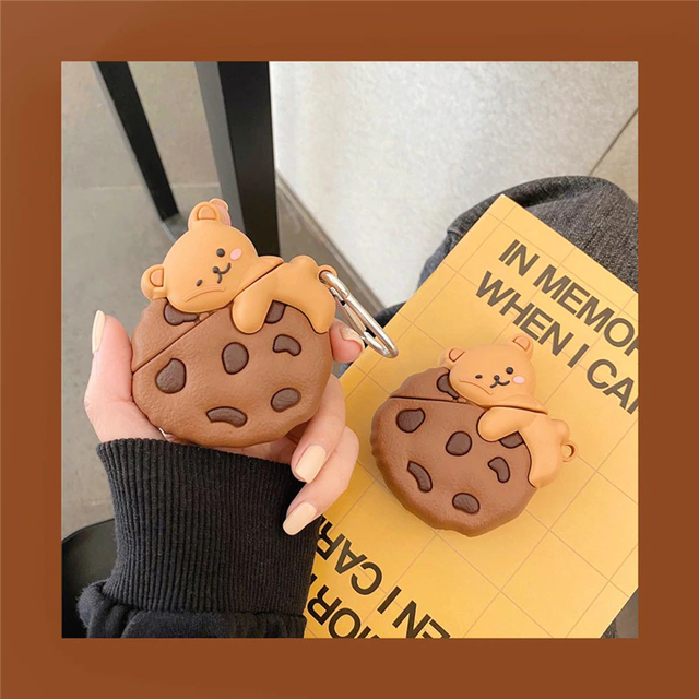Cookie bear airpods case