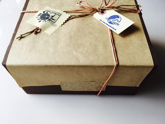 リトルアース LittleEARTHギフトセット(BOX付) made in Japan ボーダー2点セット