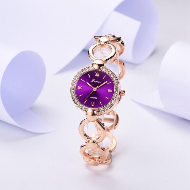 LVPAI LT-M1787(purple) レディース腕時計