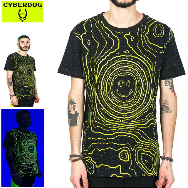 【CYBERDOG/サイバードッグ】SPECLE T S/S CRATER SMILE