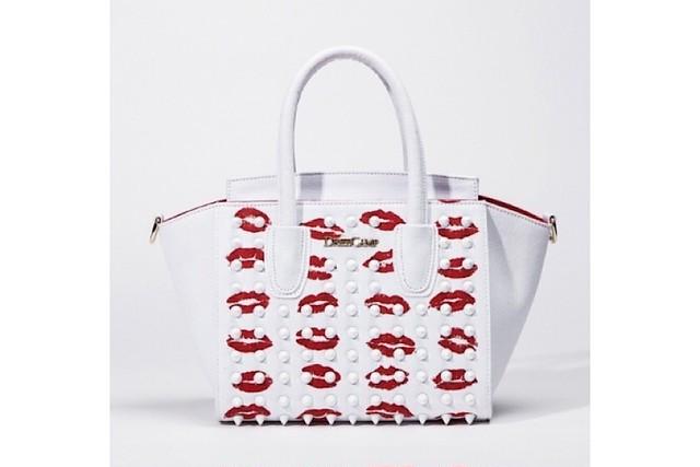 【DRESSCAMP】リップPサイズハンドバッグ/ホワイト