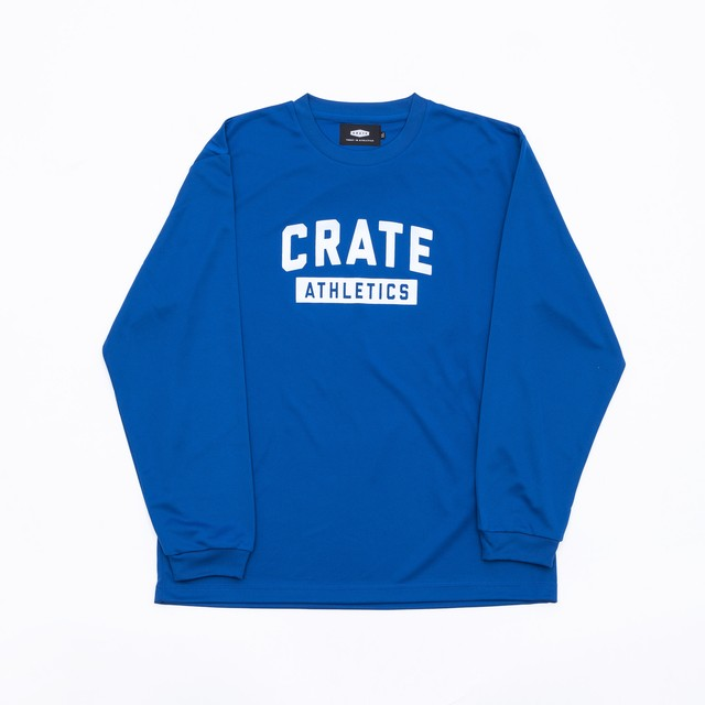 Crate Athletics Mesh L/S Tshirt Blue