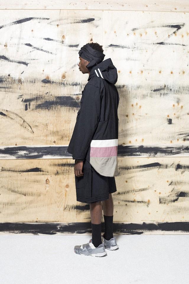 【HAUD】zip-up work coat