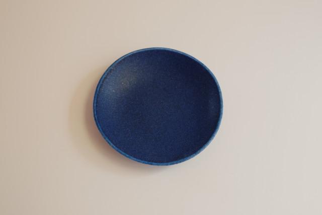[豆皿] 花 ブルーレイン