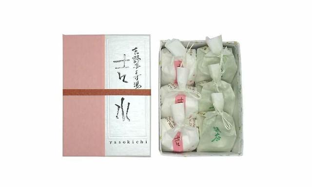 本葛湯 6ケ入(桜3、抹茶3)