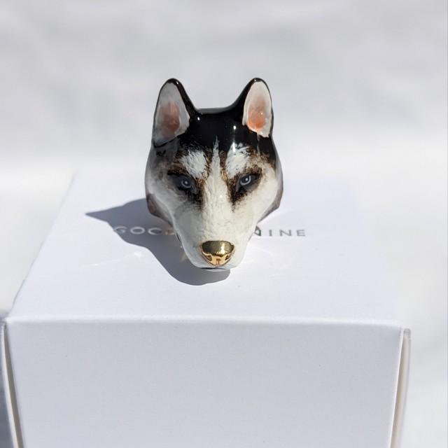 【goodafternine】 Storm husky ring