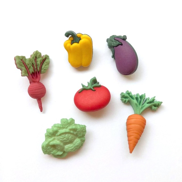JJボタン お野菜ボタンパック