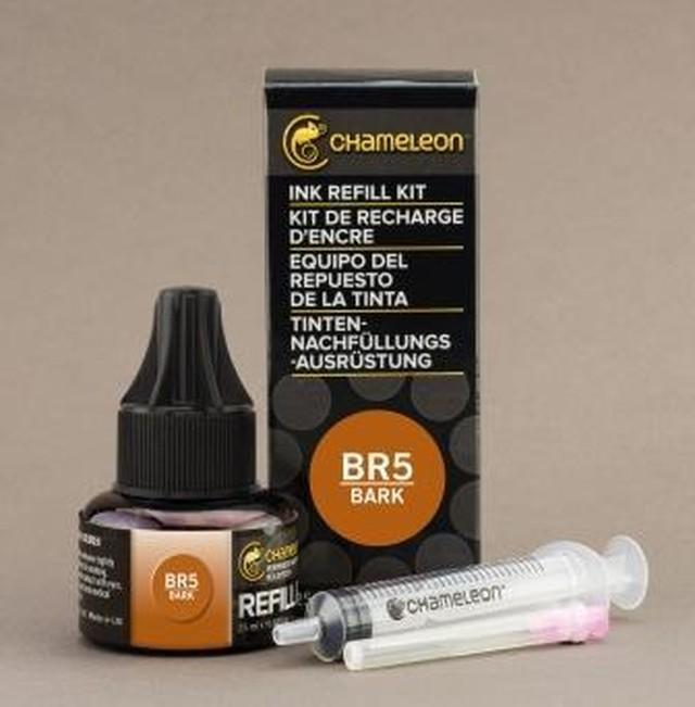 Chameleon Pen Ink Refill 25ml Bark BR5 (カメレオンペン 詰替え用インク BR5)