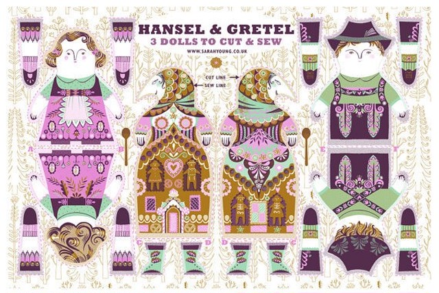 Hansel and Gretel / Cloth Kit
