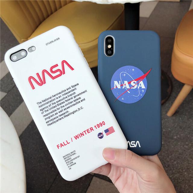 NASA iPhone8ケース iPhone8Plusケース iPhone XRケース iPhone XS ...
