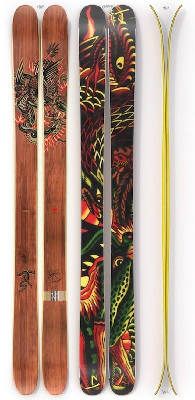 【入荷】J skis - バケーション「バトルロイヤル」プロフェッサー・ヨーク x Jコラボ限定版スキー 173cm