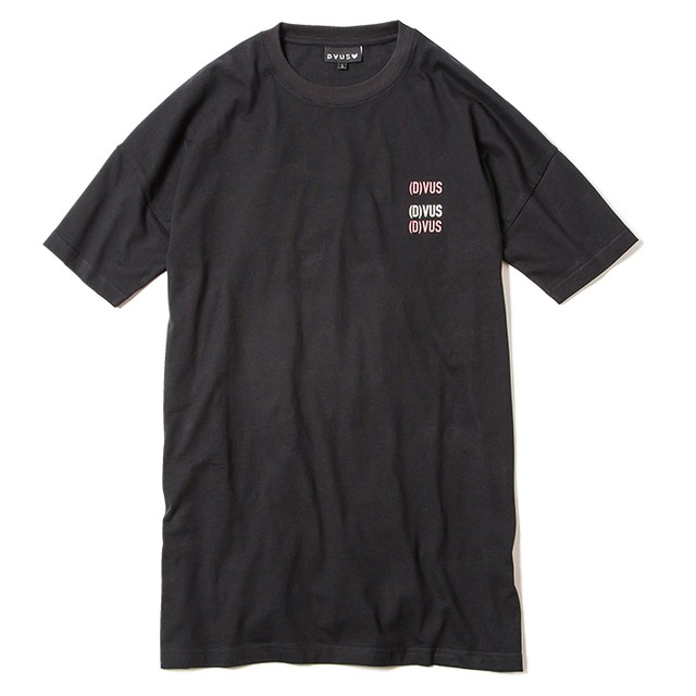 【Deviluse | デビルユース】(D)VUS Long Length T-shirts(Black)