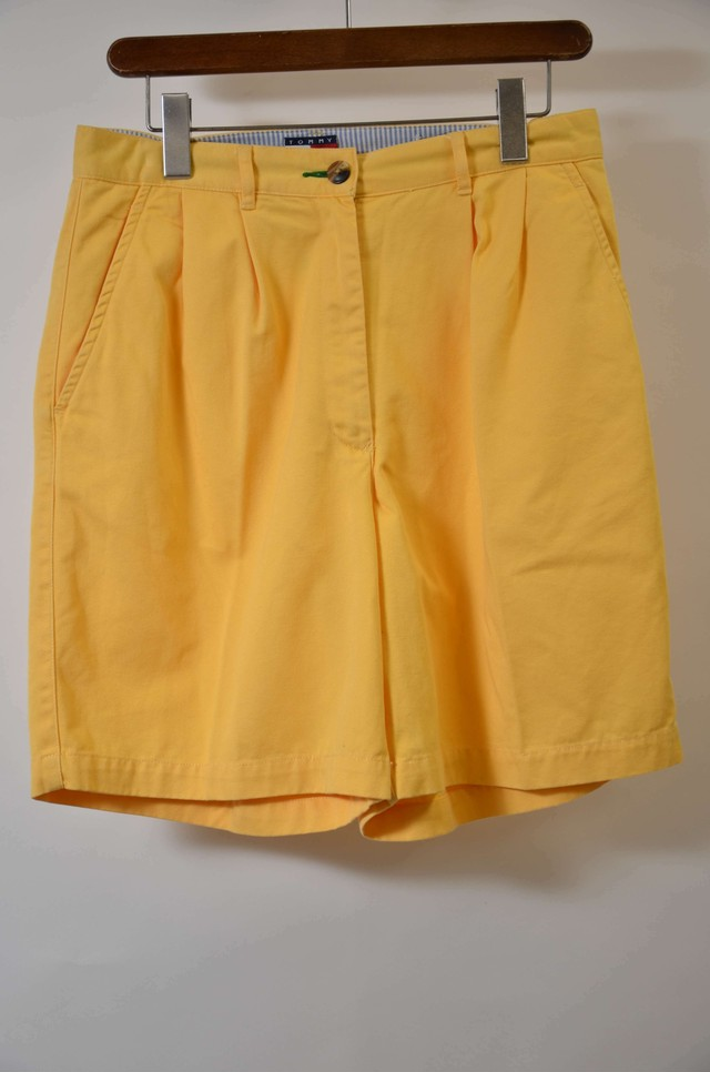 TOMMY HILHIGER トミー・ヒルフィガー  CHINO SHORT チノショーツ YELLOW 400613190518