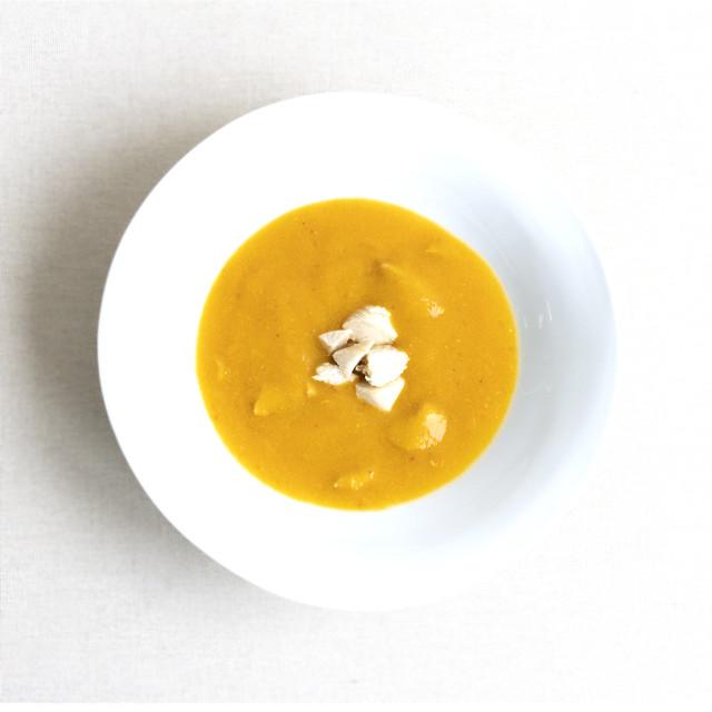 #59 チキンと赤い野菜のスープ