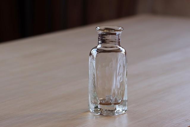 花瓶 大(六角・透明)片山悟子