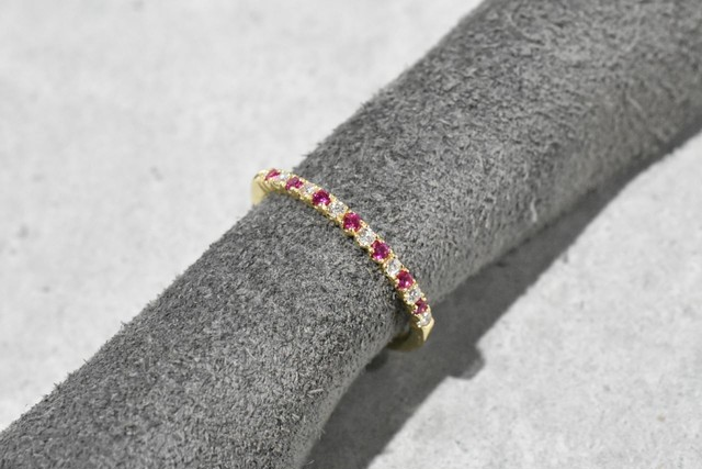 Ruby & Diamond Ring / K18YG
