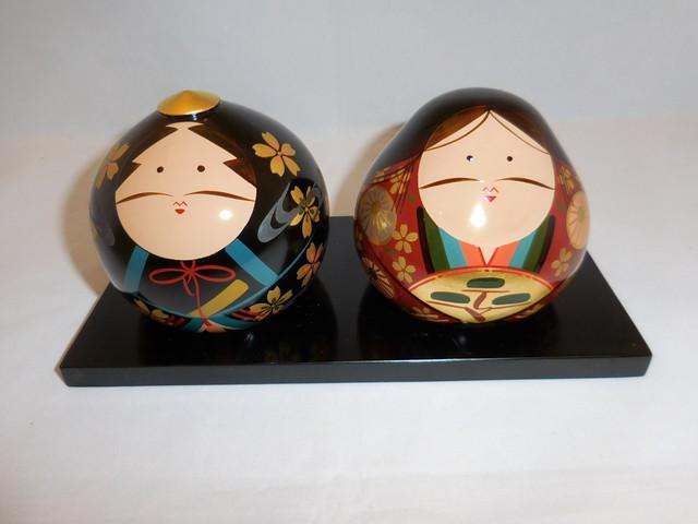 大内雛人形 pair Ouchi dolls(No1)