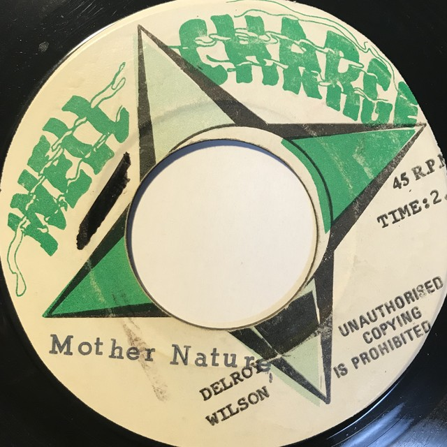 Delroy Wilson - Mother Nature【7-10842】