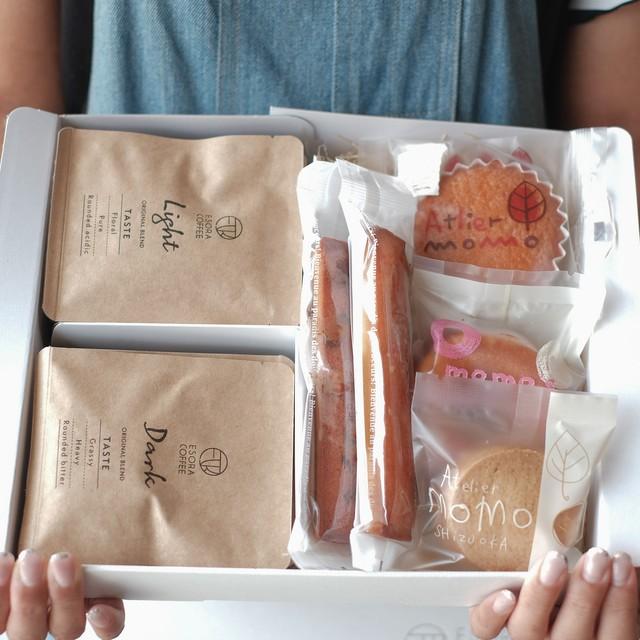 【送料無料|限定コラボギフト】コーヒーバッグ8袋×焼き菓子セット