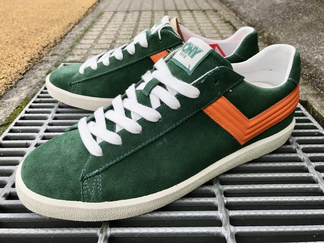 PONY TOP STAR OX (FOREST GREEN/ORANGE)