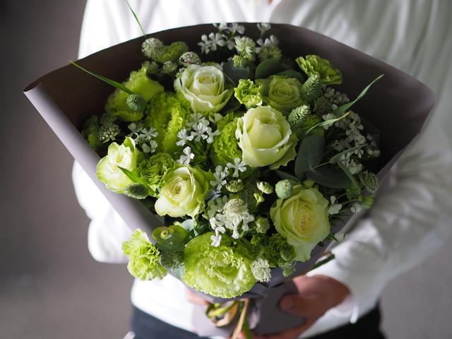 【bouquet】季節のお任せブーケ M