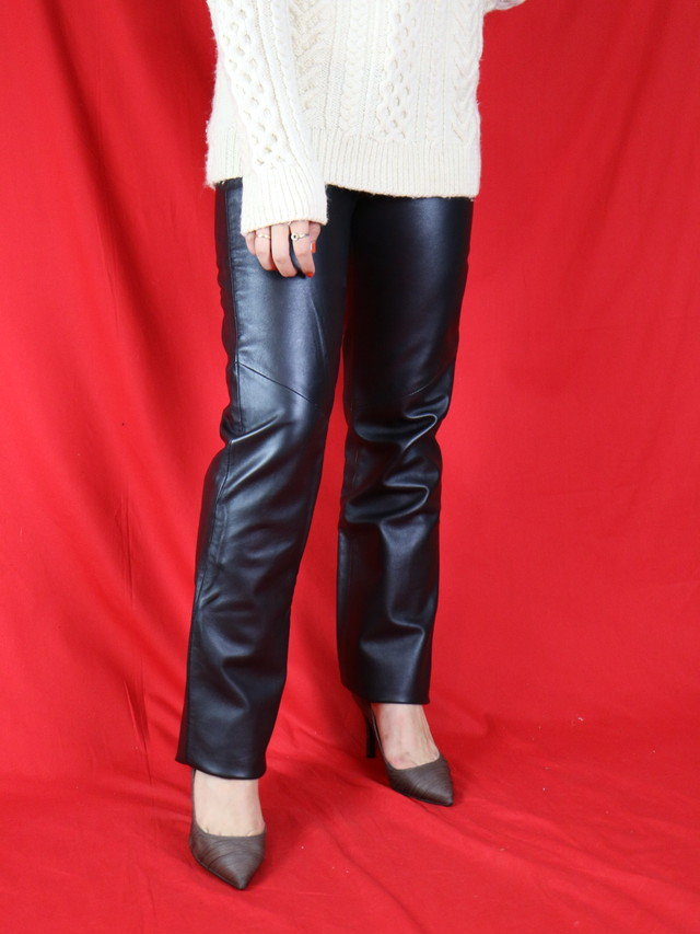 leather pants【0575】