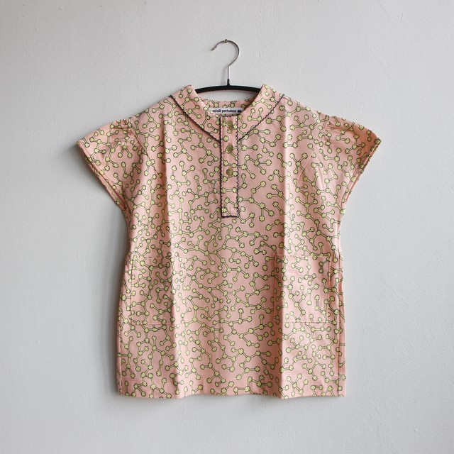《mina perhonen 2021SS》ensoku ワンピース / pink / 80-100cm