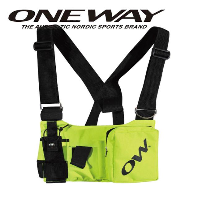 ONE WAY パーツ&アクセサリー ONEWAY ラジオベルト 携帯無線機入れ ショルダーベルト ow90113