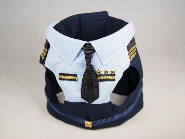 【police/BLUE】DOG★CATハーネス