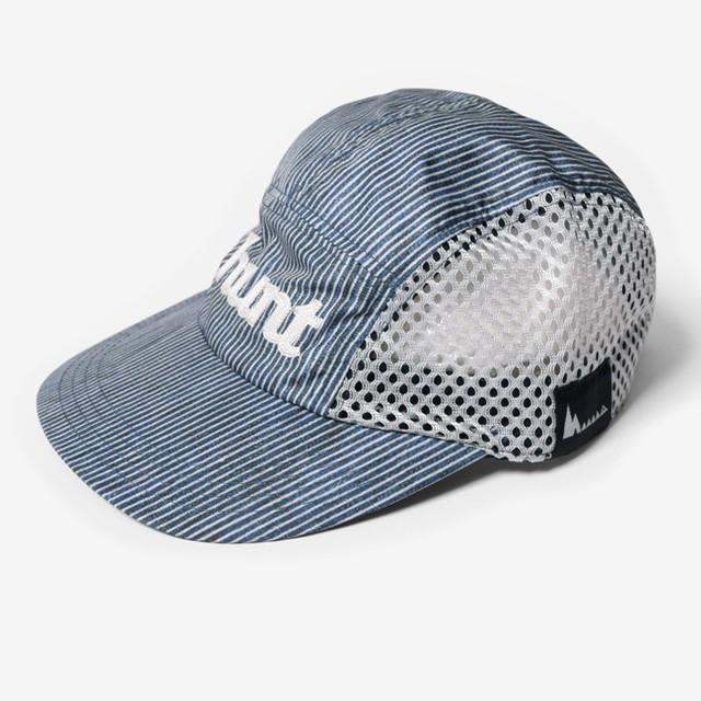 MMA×huntstored. Side Mesh Cap (Denim)
