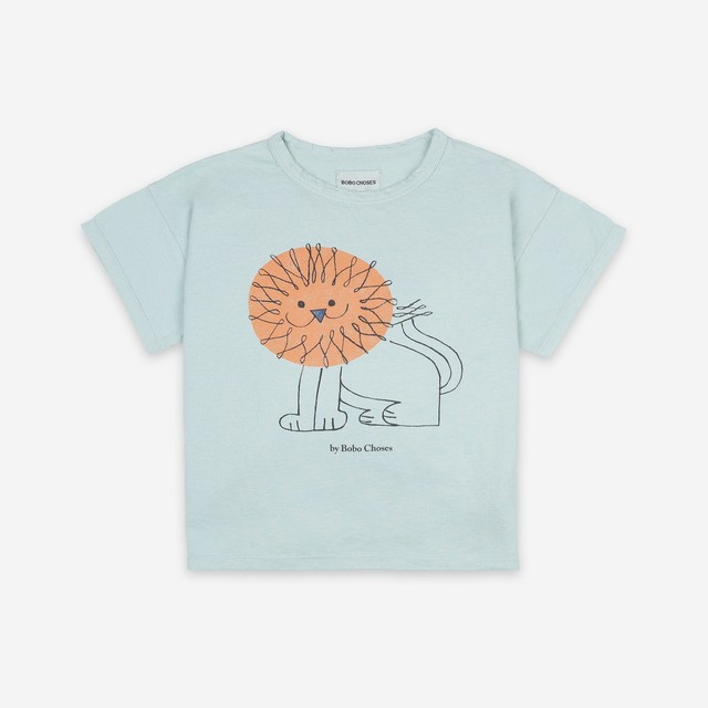《BOBO CHOSES 2021SS》Pet A Lion T-Shirt / 2-9Y