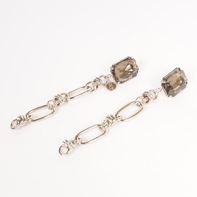 df18WT-J02 BIJOU CHAIN PIERCE-B (silver)