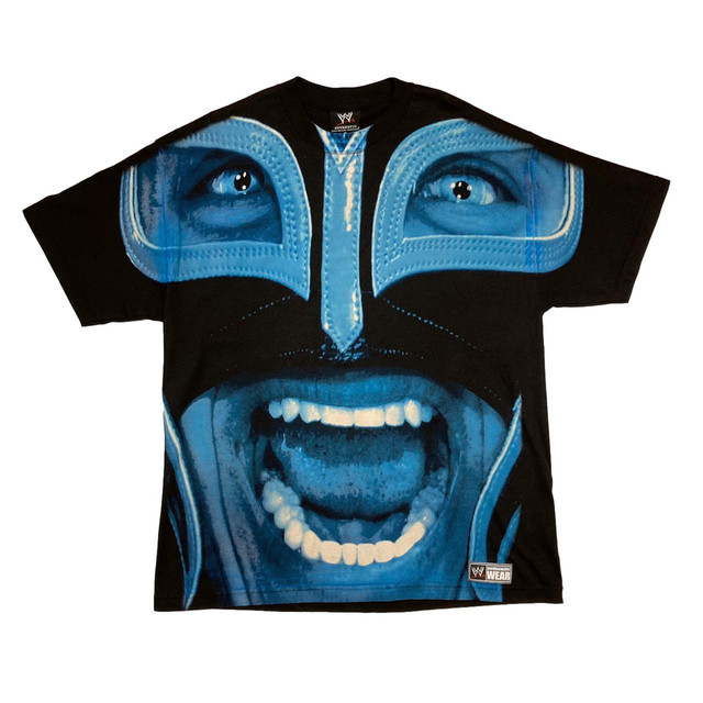 REY MYSTERIO OVP BIG FACE TEE FIT LIKE XL 7086