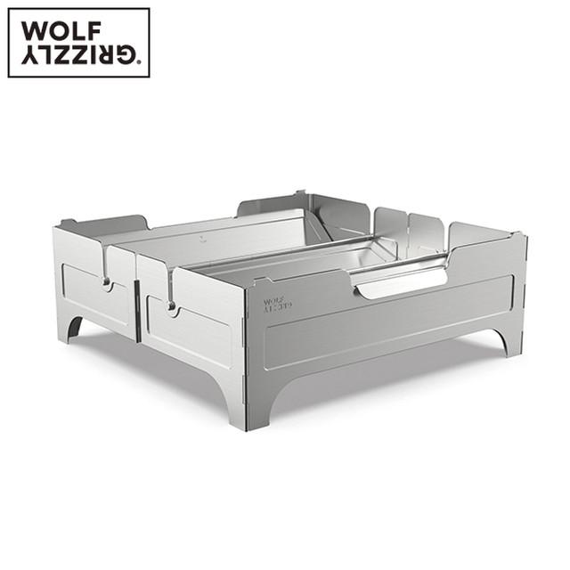新品 WOLF&GRIZZLY FIRE SAFE