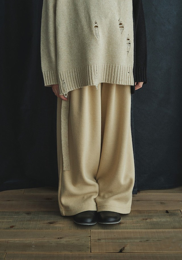 GRIS 20AW Mexican Wide Pants Sサイズ (ecru) [GR20AW-PT002]