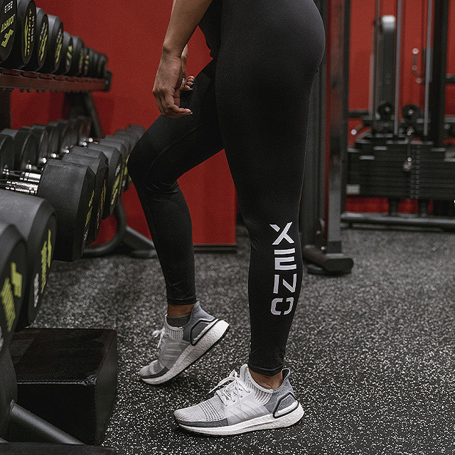XENO SQUAT TIGHTS BLACK FOR HER