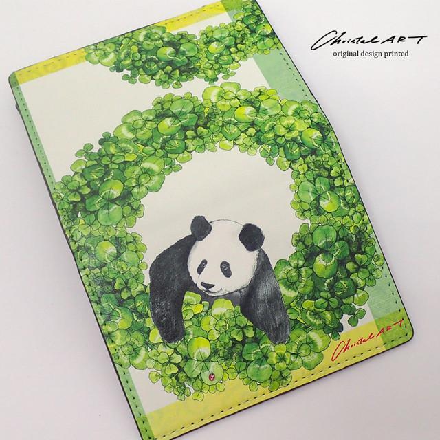 ■受注生産■「四つ葉リースシャンシャン」デザイン ◆カードケース