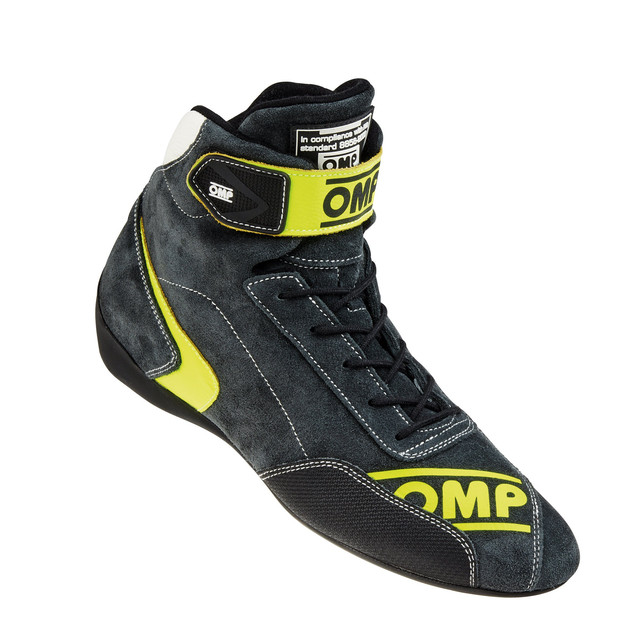 IC/80918 FIRST EVO SHOES ANTHRACITE/YELLOW