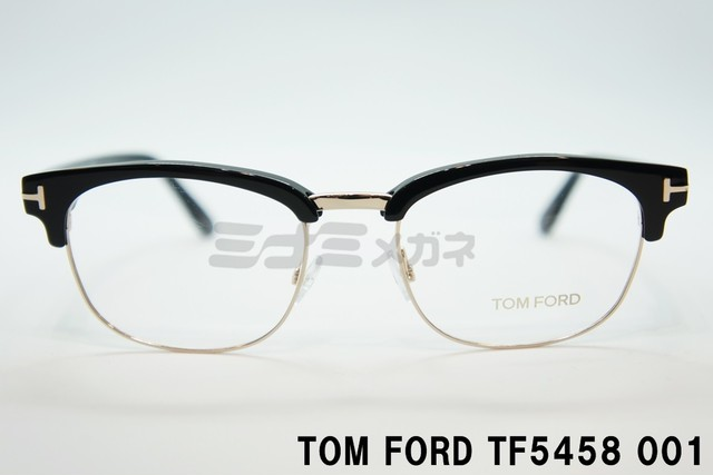 【正規取扱店】トムフォード TOM FORD TF5458 001 メガネ フレーム クラシック 黒