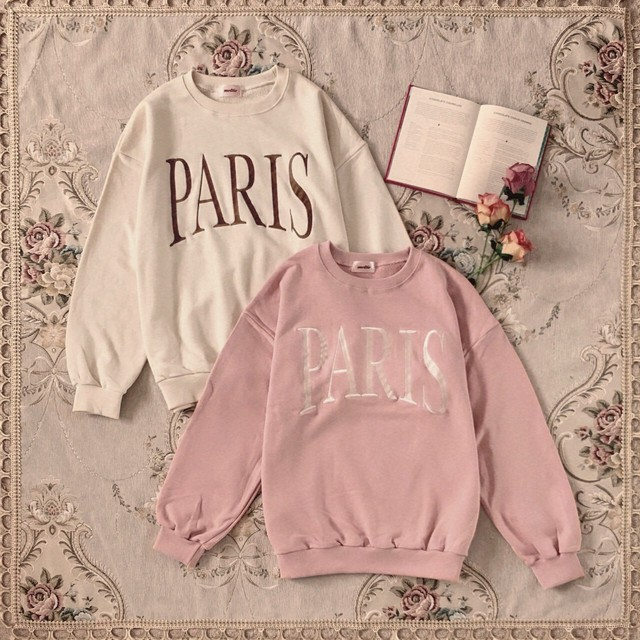 【meltie】paris girl sweat