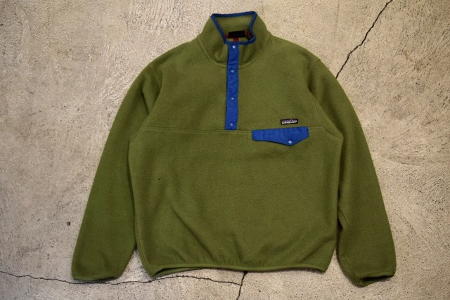 USED 90s patagonia Synchilla Snap-T -Medium F0609