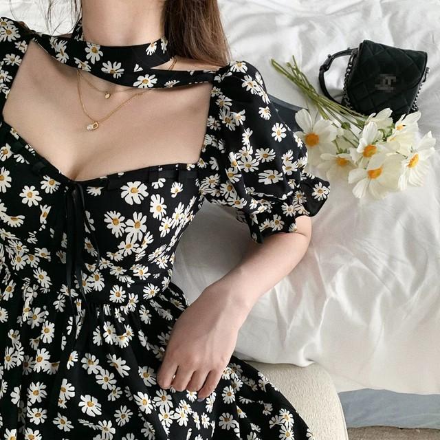 chorker design flower dress