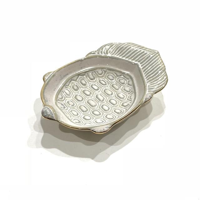 ハクア 亀型小皿