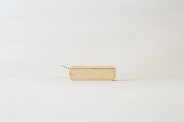 バターケース ヒノキ白木仕上げ