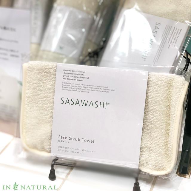 洗顔タオル《SASAWASHI》