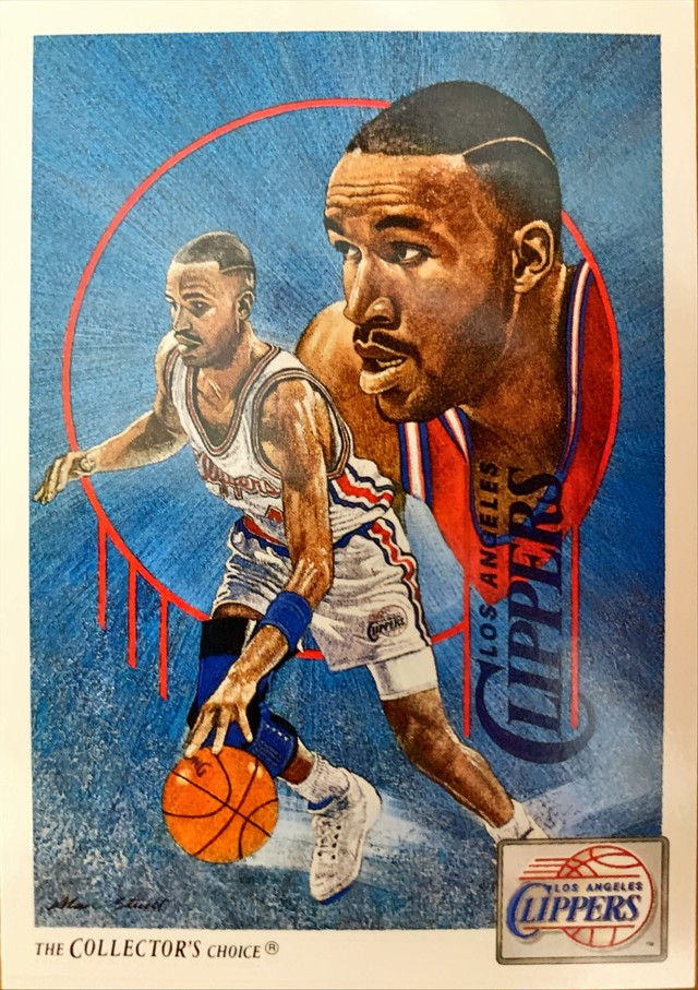 NBAカード 91-92UPPERDECK CHECKLIST #78 CLIPPERS