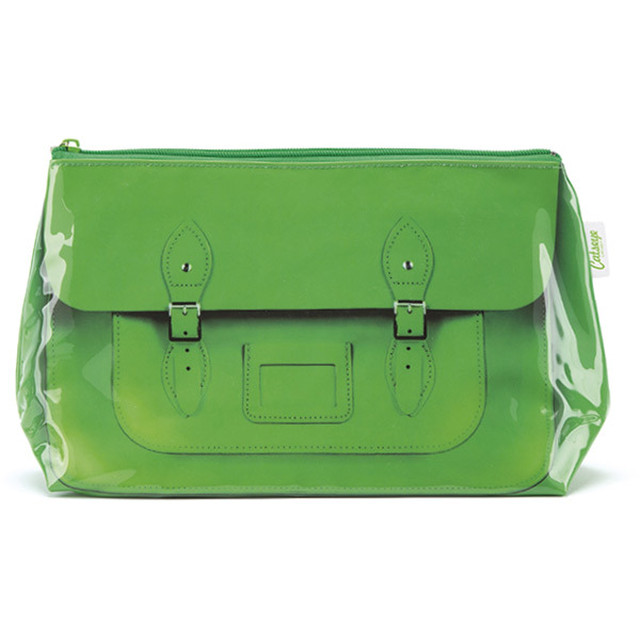 Satchel Green Wash Bag_STG4W