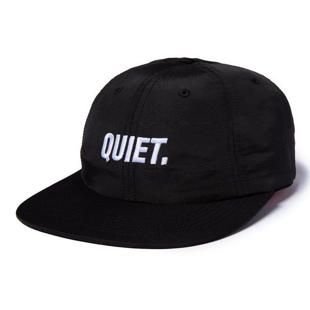 THE QUIET LIFE SPORT POLO HAT ROYAL BLACK