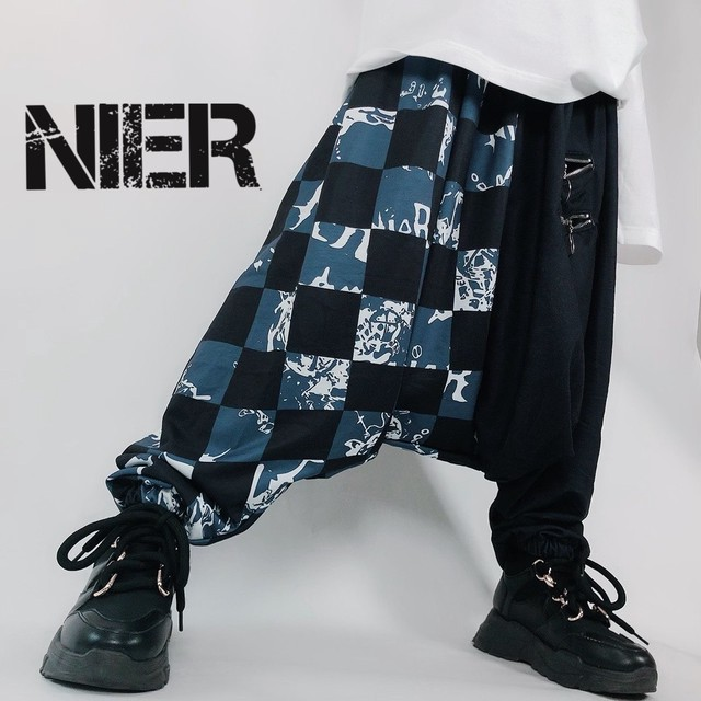 SARROUEL PANTS【4ZIP CHECK BEART】