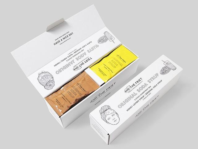 シロップボックス : ORIGINAL SODA SYRUP